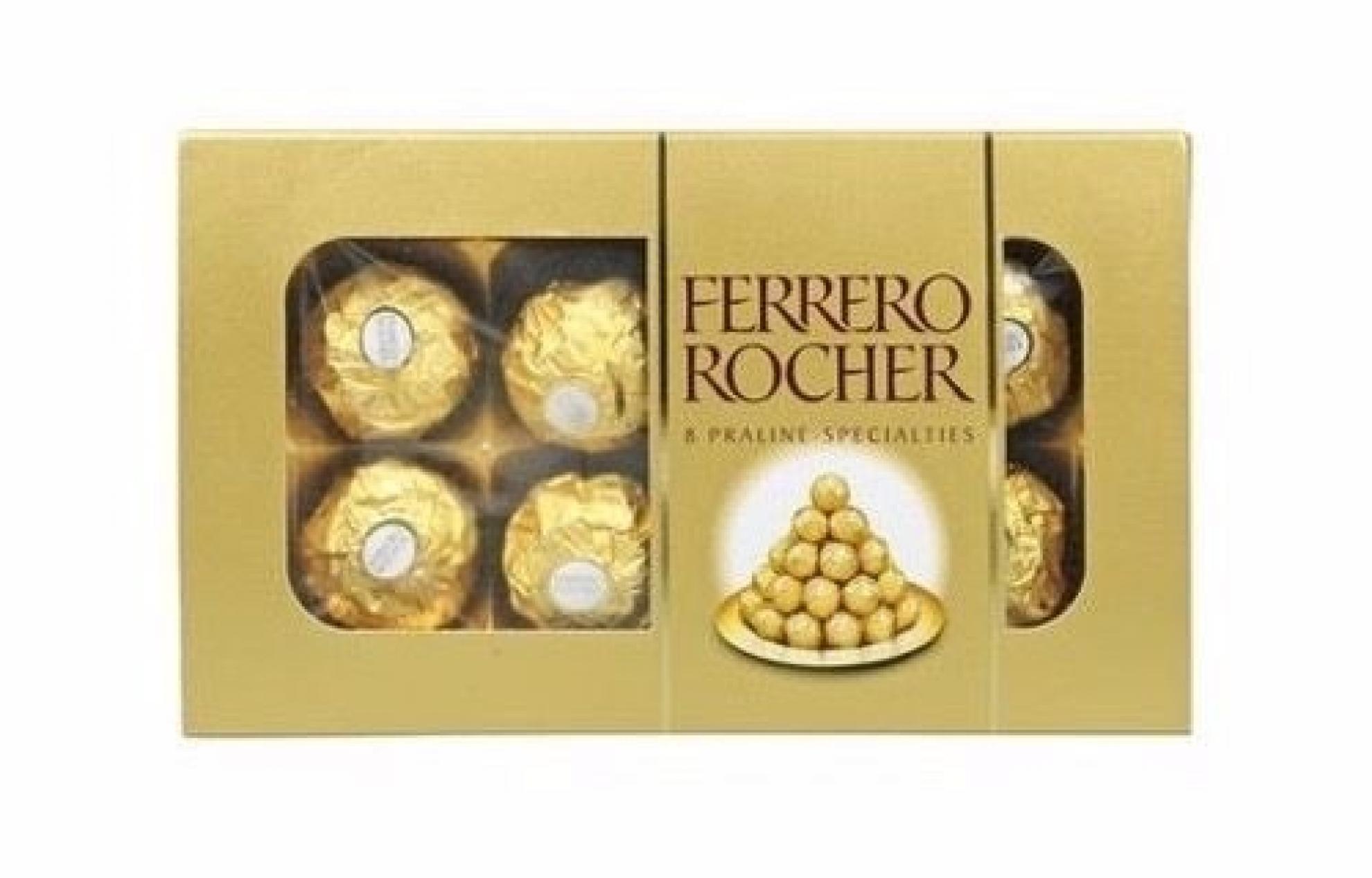Chocolate Ferrero Rocher 8 unidades - 5003