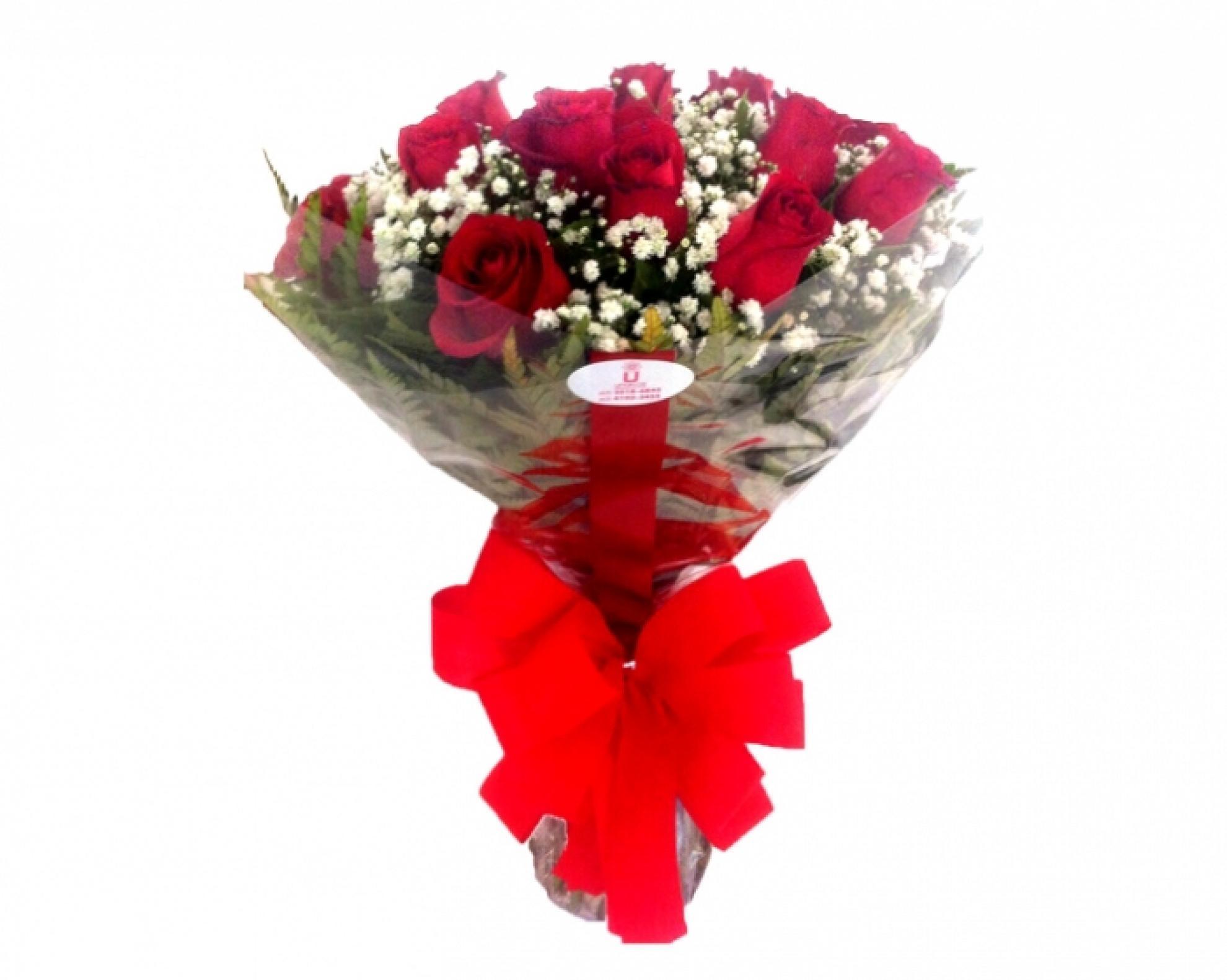 Buqu� de Rosas Vermelhas Tradicional - BT04