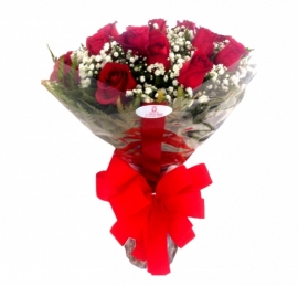 Buqu� de Rosas Vermelhas Tradicional - 1016