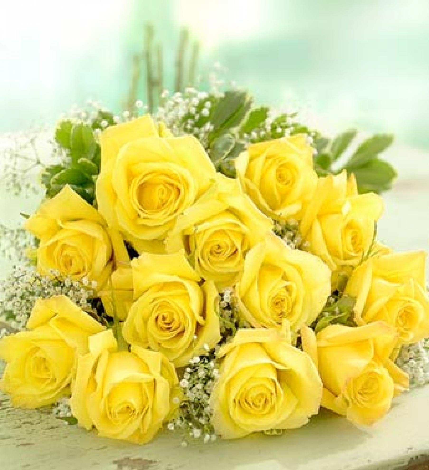 Buqu� Rosas Amarelas - BT02