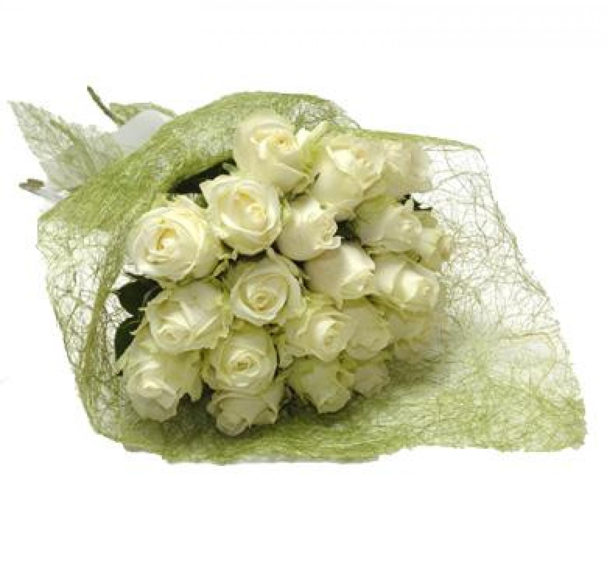 Buqu� de Rosas Brancas - BN01
