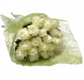 Buqu� de Rosas Brancas - T-09