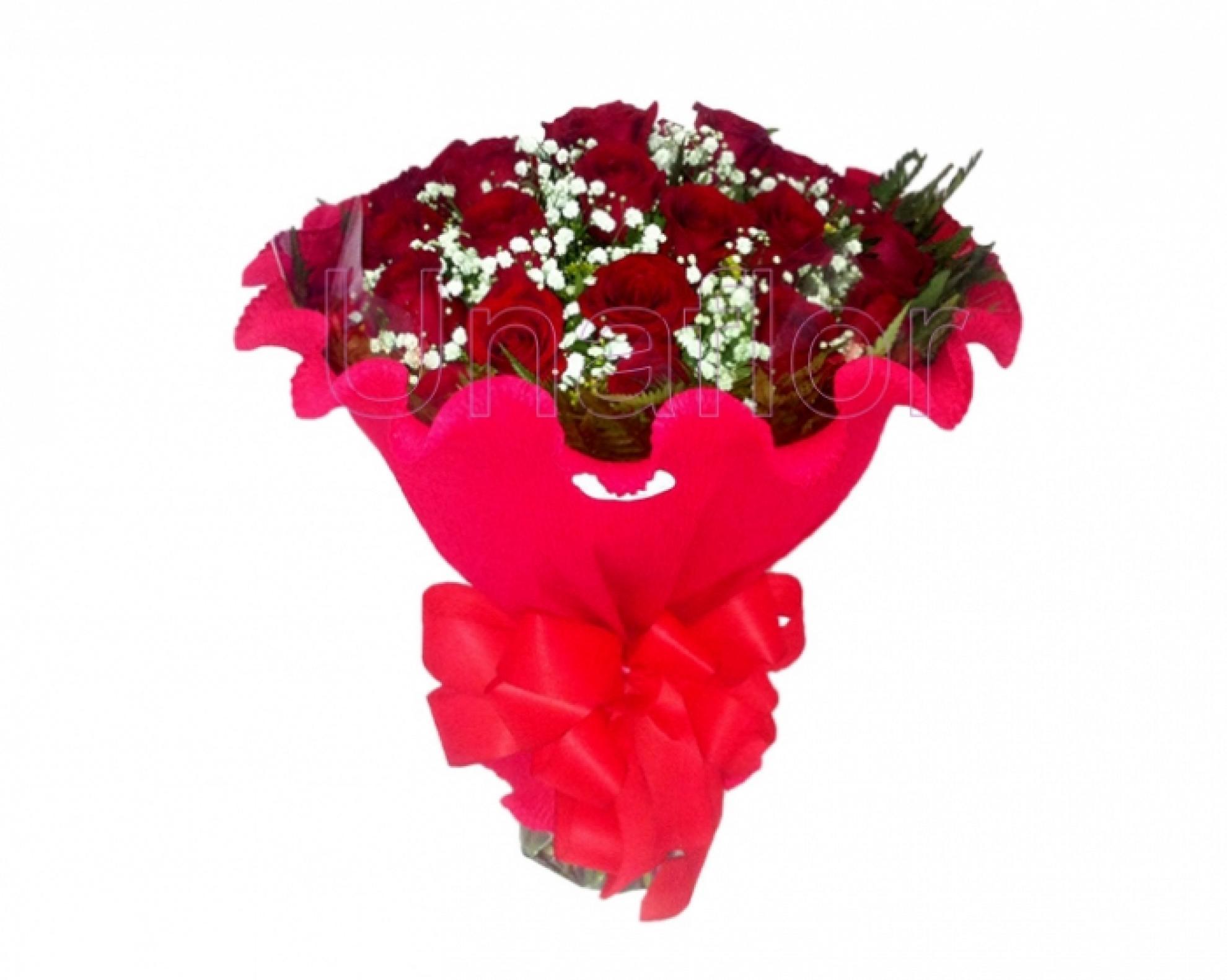 Buqu� Italiano 24 Rosas Vermelhas - BC07