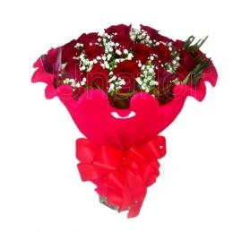 Buqu� Italiano 24 Rosas Vermelhas - I04
