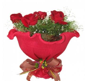 Buqu� Italiano Seis Rosas - I02