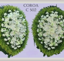 Coroa de Flores C502