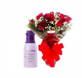 Buqu� de Rosas com Nativa SPA - AC11