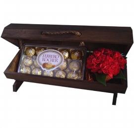 Ba� de Flores com Ferrero Rocher - B04