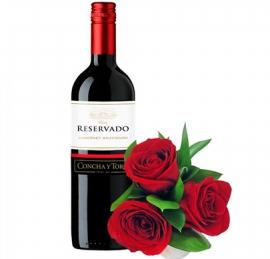 Arranjo Rosas com Reservado - B08
