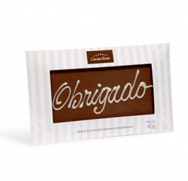 Chocolate Mensagem Cacau Show - 1046