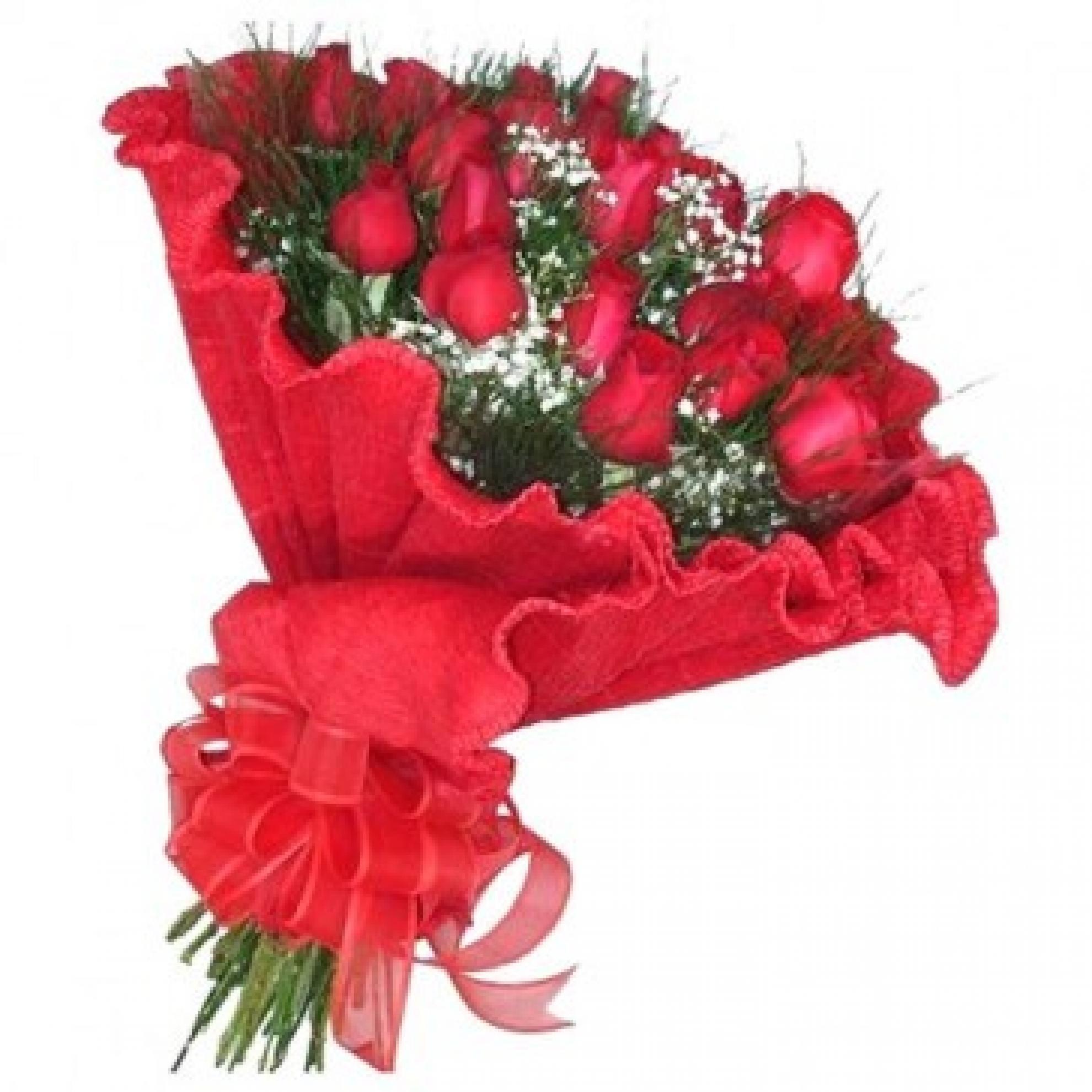 Buqu� Italiano 20 Rosas - BC06
