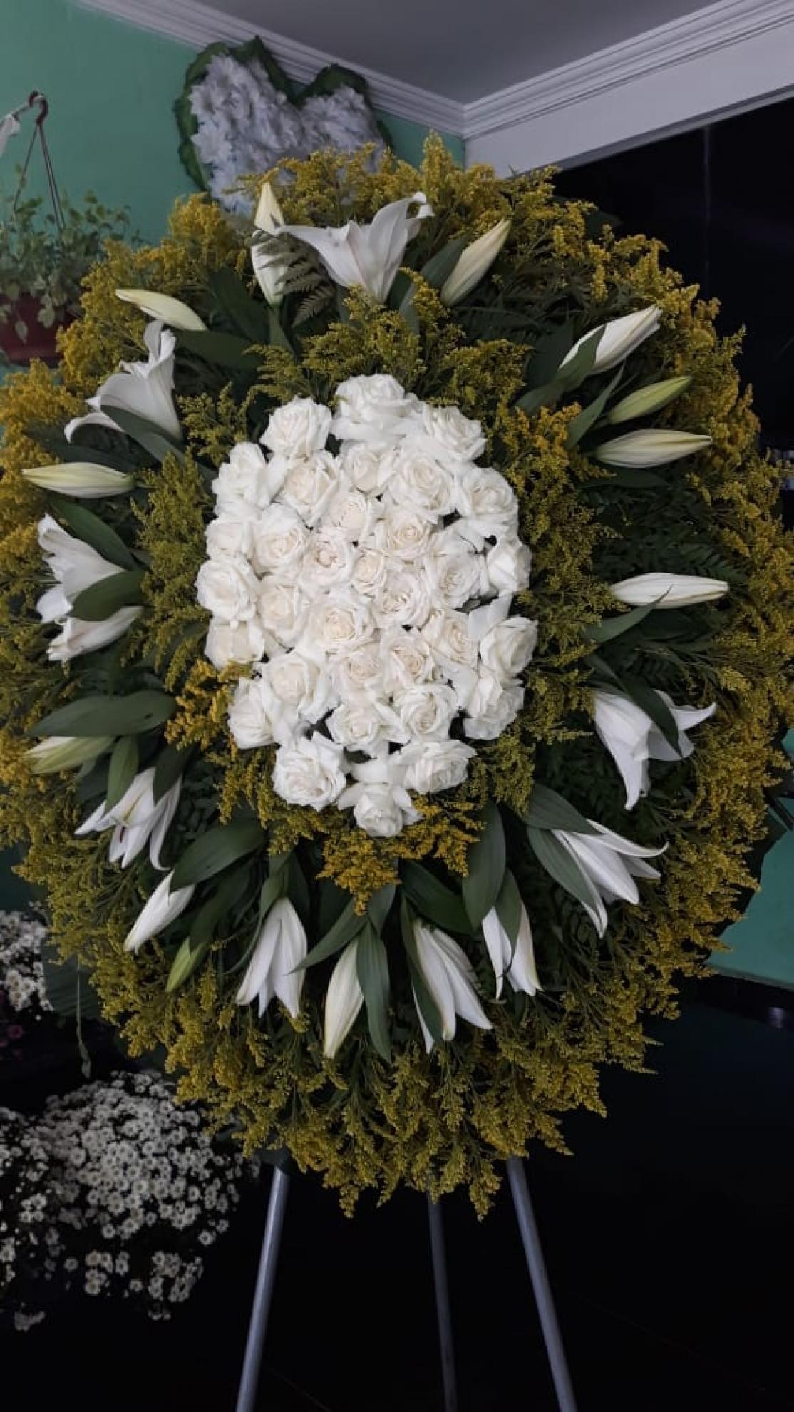 Coroa de Flores C403