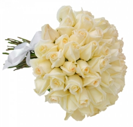 Buqu� de Rosas Brancas- OT04