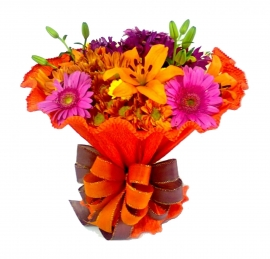 Buqu� Italiano Flores do Campo - BC04