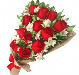 Buqu� Americano Especial Rosas Vermelhas - OT05