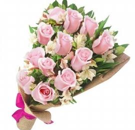Buqu� Americano Especial Rosas Cor de Rosa - OT09