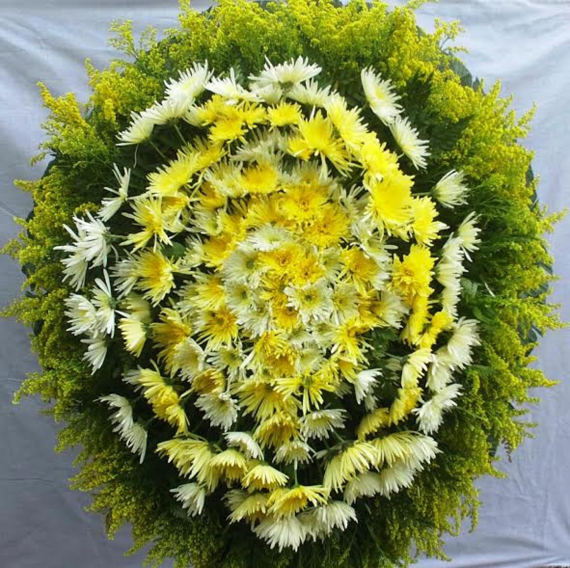 Coroa de Flores P-01