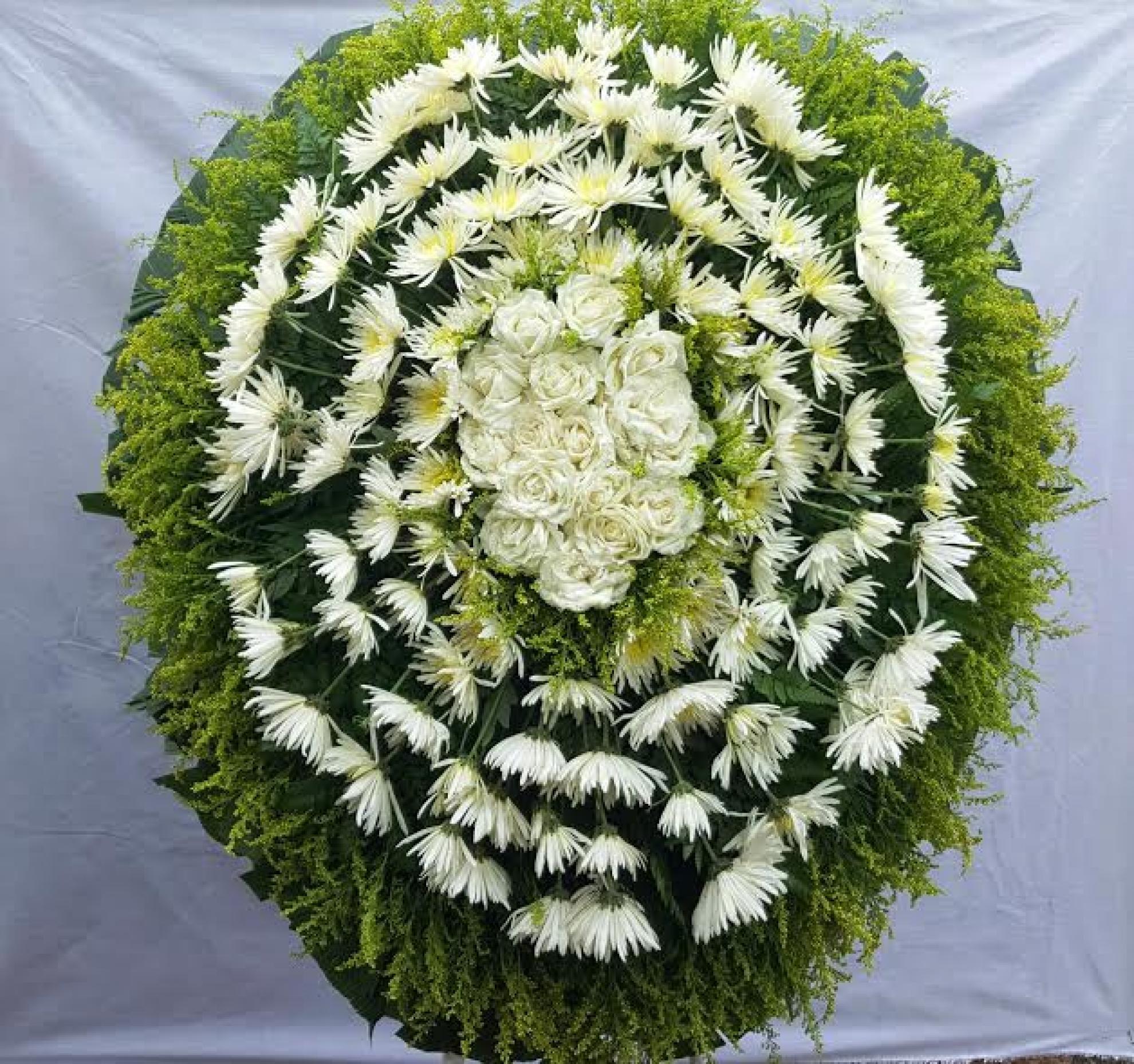 Coroa de Flores P-02