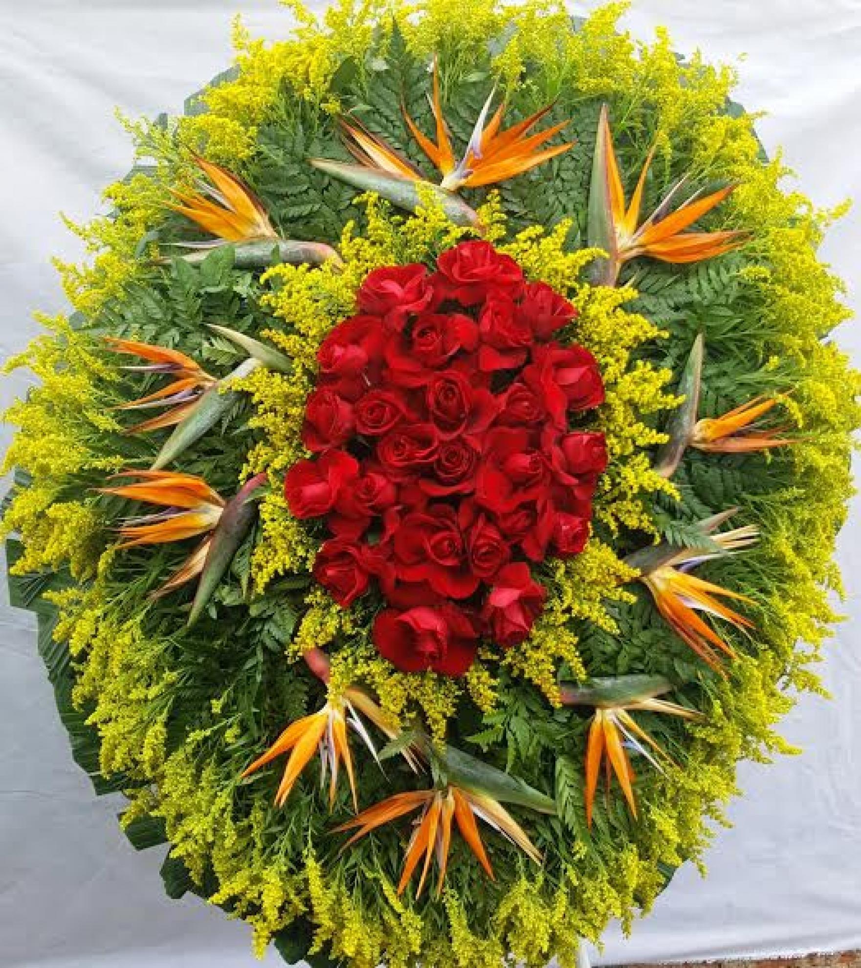 Coroa de Flores L-02
