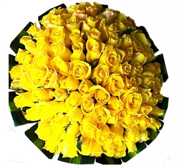 Buqu� 100 Rosas Amarelas - BR02