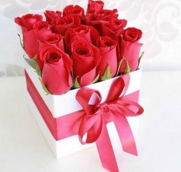 Arranjo de Rosas Vermelhas - 5512