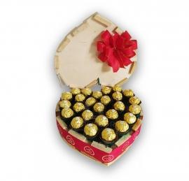 Cora��o de Ferrero Rocher - R1