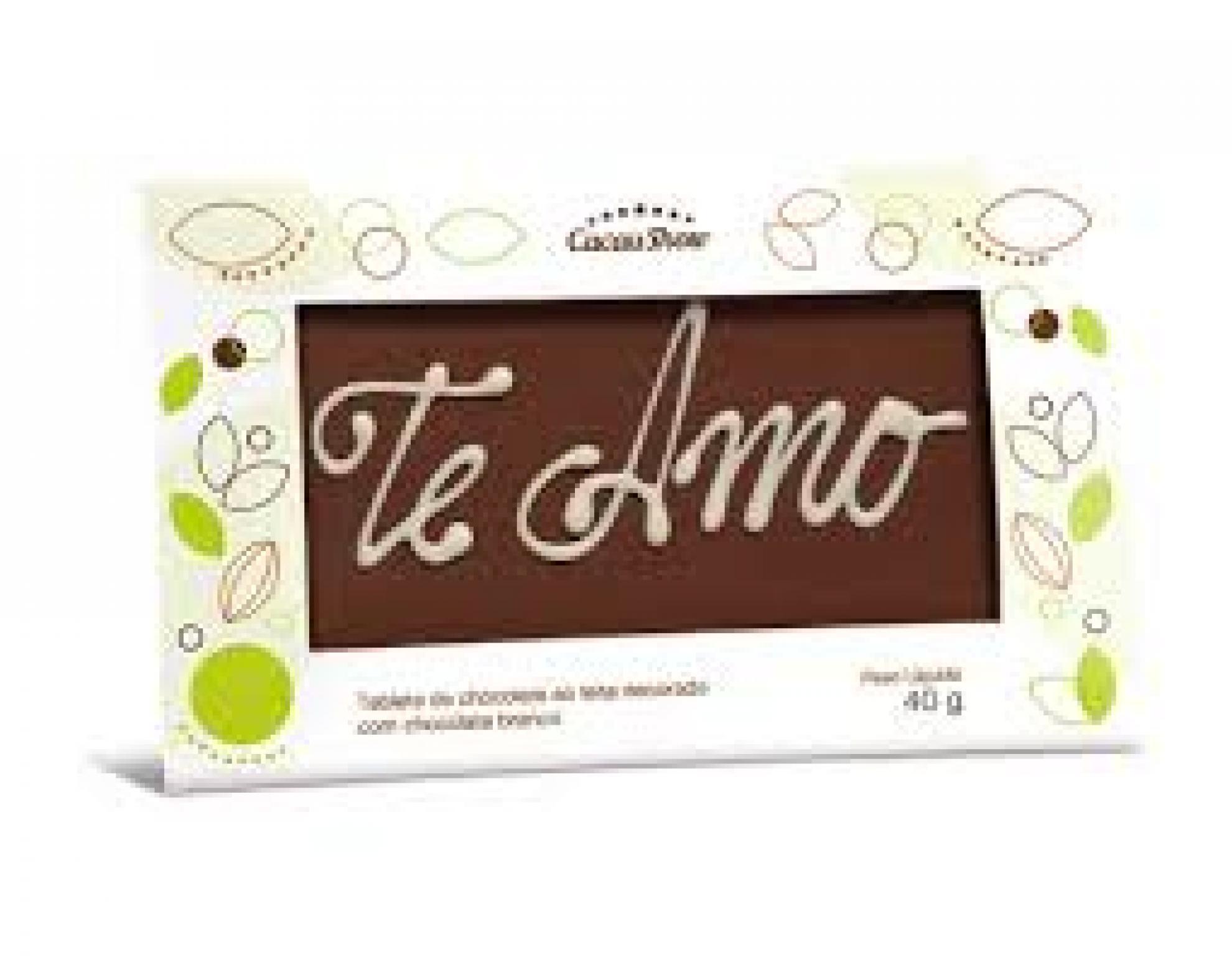 Chocolate Mensagem Cacau Show - 6101